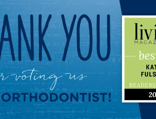 Voted Best Orthodontist in Katy by Living Magazine!