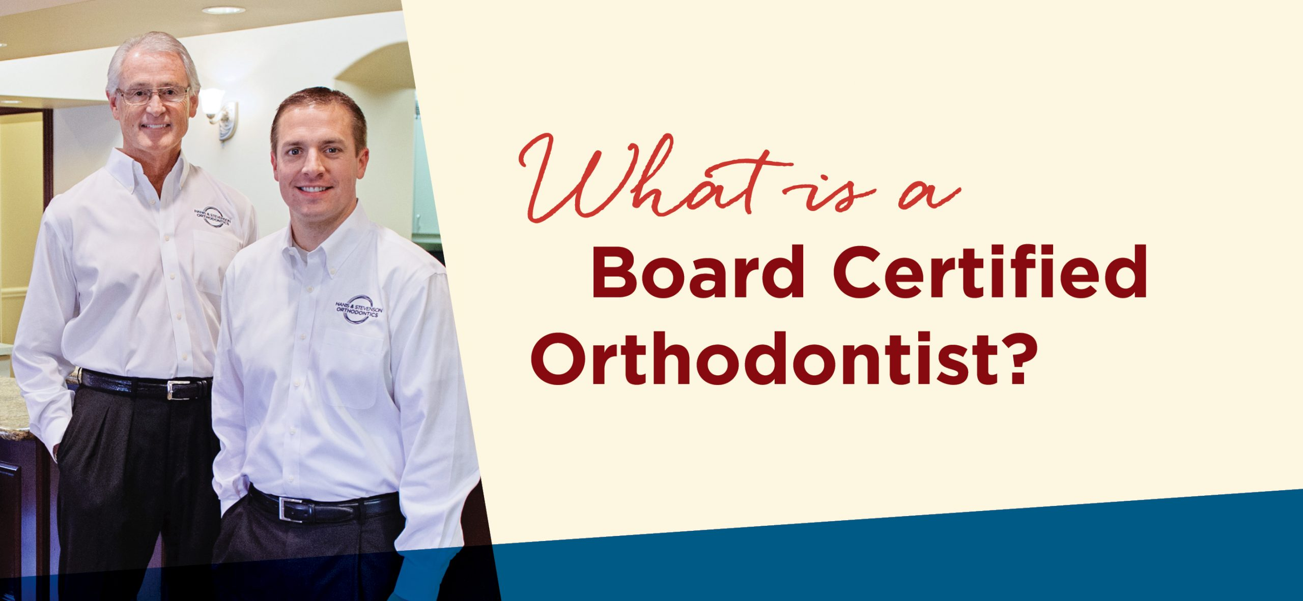 What is a Board Certified Orthodontist?